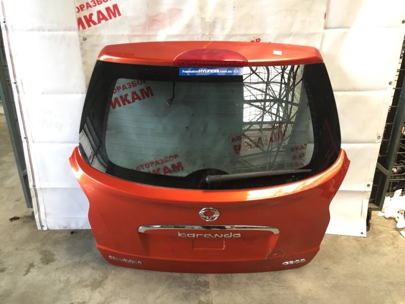 Дверь багажника Ssangyong Korando CK G20T-051 2013 задняя