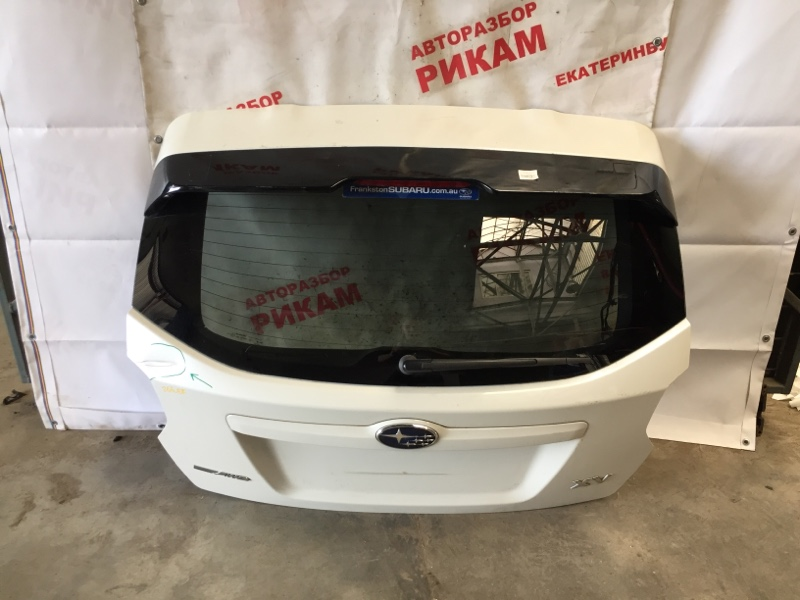 Дверь багажника Subaru Impreza Xv GP7 FB20A 2016 задняя