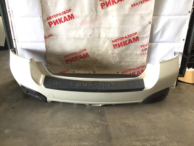 Бампер Subaru Impreza Xv GP7 FB20A 2016 задний