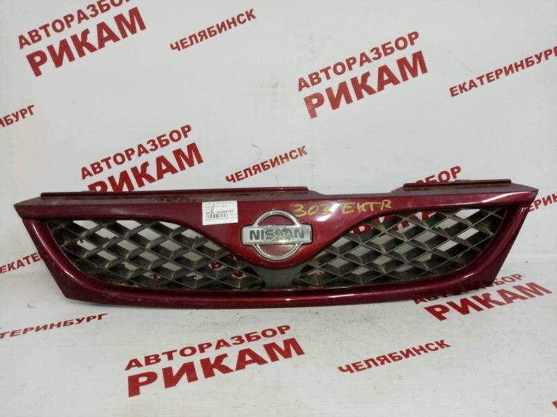 Решетка радиатора Nissan Pulsar N15 GA16DE 1998