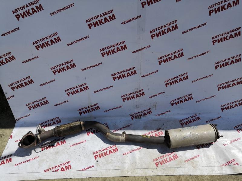 Приемная труба глушителя Chevrolet Lacetti J200 F18D3 2007
