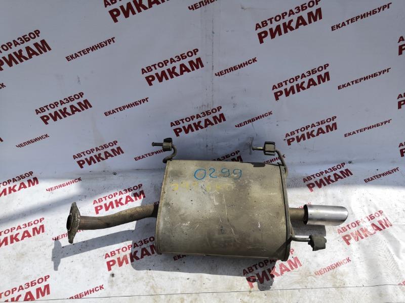 Глушитель Nissan Almera N16 QG16DE 2002