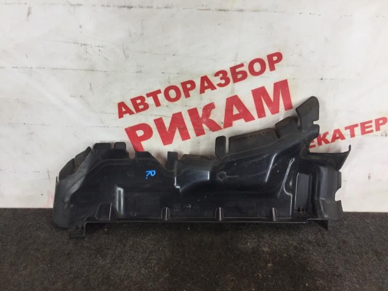 Дефлектор радиатора Peugeot 308 10FHBU 2010 правый