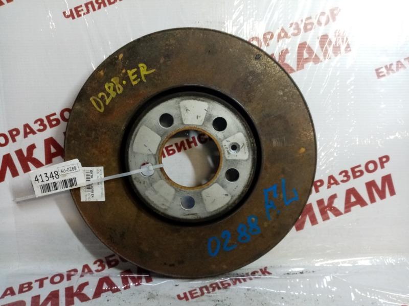 Диск тормозной Skoda Fabia 5J2 CBZ 2011 передний