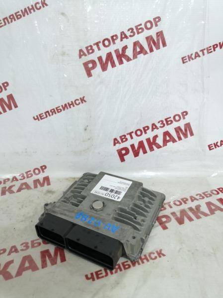 Блок управления Skoda Fabia 5J2 CBZ 2011