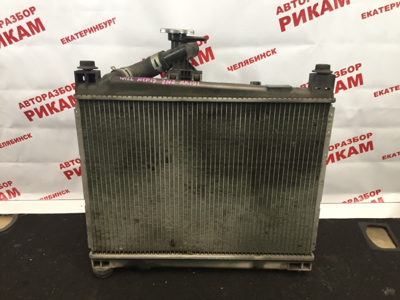 Радиатор охлаждения Toyota Will Vi NCP19 2NZ-FE 2000