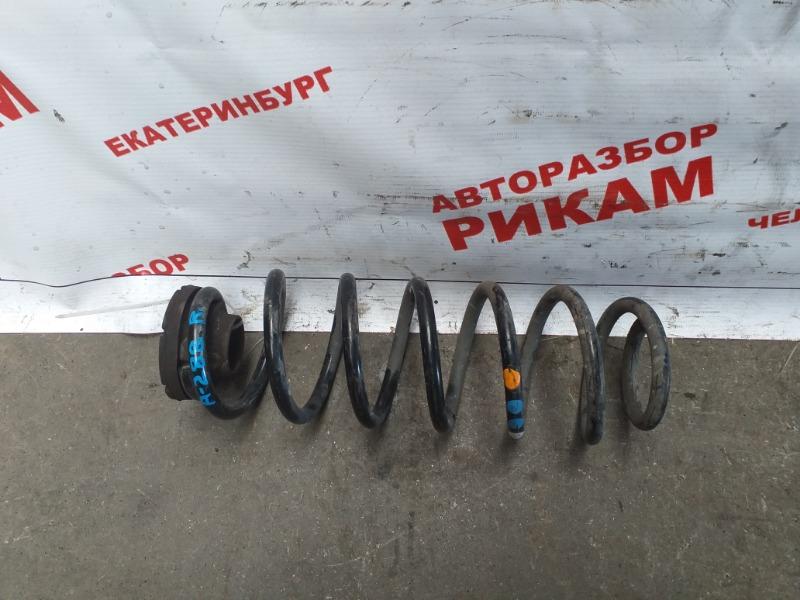 Пружина Skoda Fabia 5J2 CBZ 2011 задняя