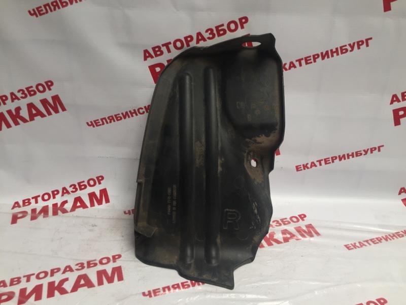 Защита под бампер Honda Fit GE6 L15A задняя правая