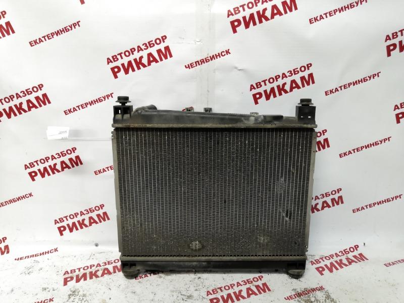 Радиатор охлаждения Toyota Probox NCP50 2NZ-FE