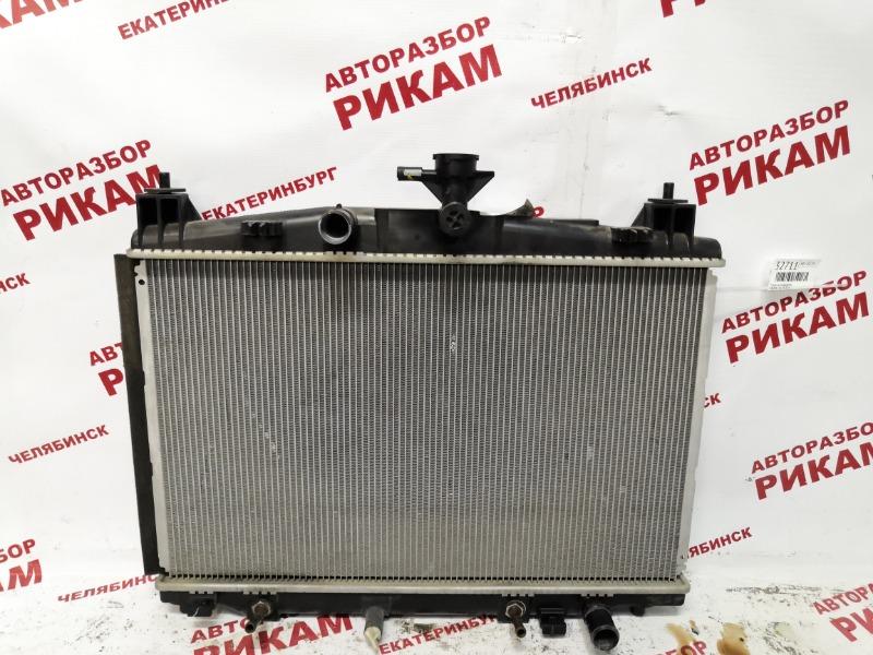 Радиатор охлаждения Mazda 2 DE ZY 2013