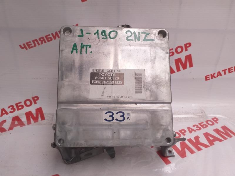 Блок управления Toyota Porte NNP10 2NZ-FE 2004