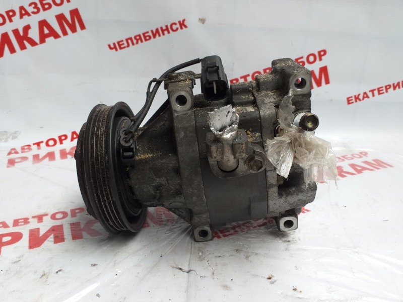 Компрессор кондиционера Toyota Will Vi NCP19 2NZ-FE 2000