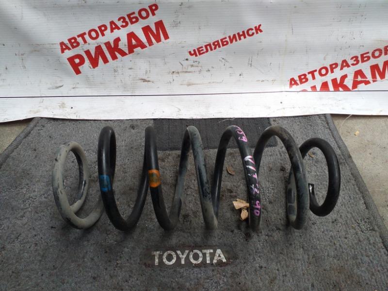 Пружина Toyota Vitz KSP90 1KR-FE 2007 задняя