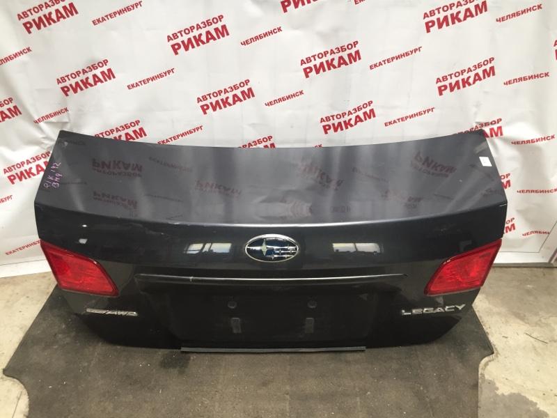 Крышка багажника Subaru Legacy BM9 EJ253 2012