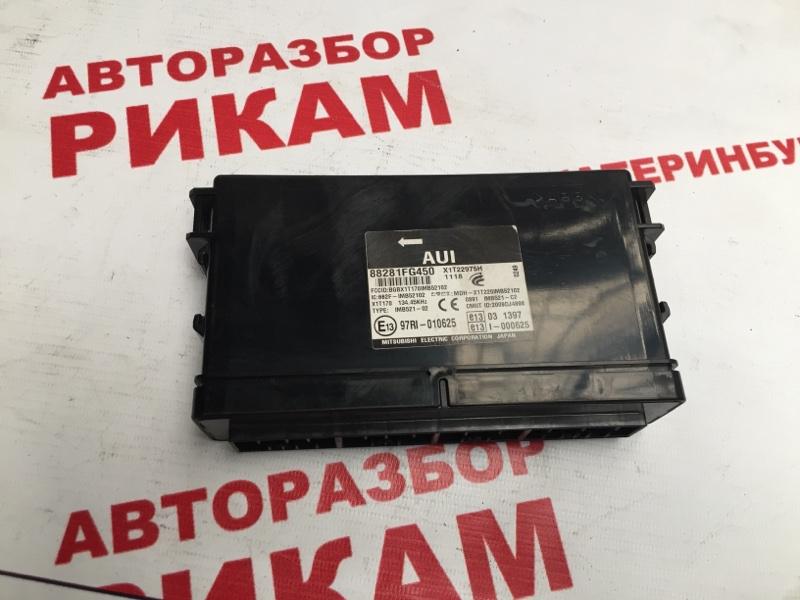 Блок управления Subaru Impreza Xv GH7 EJ204 2011