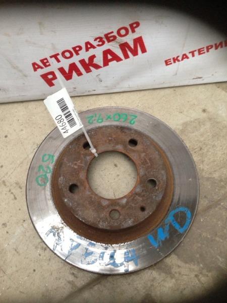 Диск тормозной Mazda Capella CWEW задний