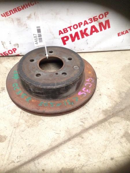 Диск тормозной Nissan Laurel GC35 задний