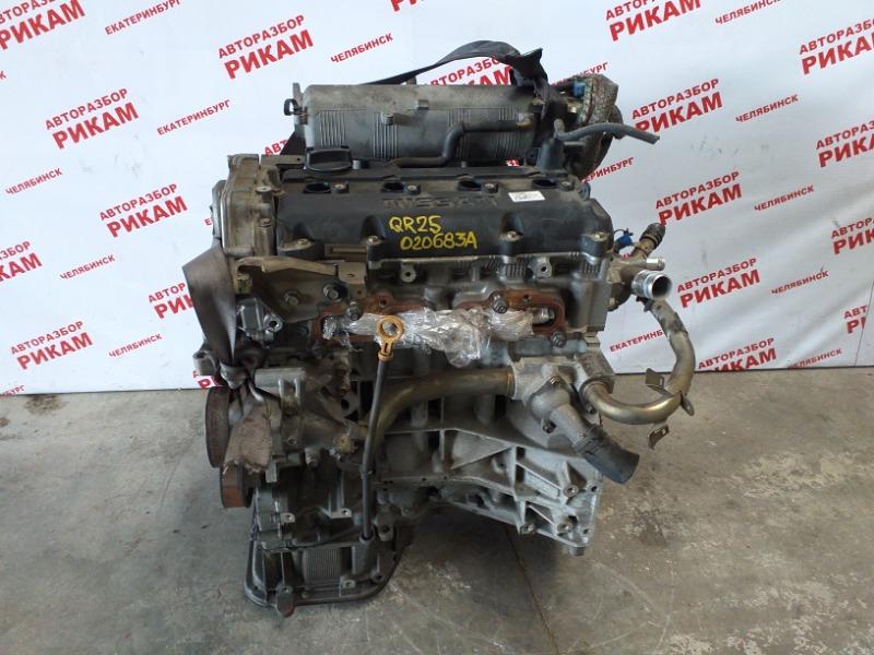 Двигатель Nissan Bassara JTU30 QR25DE 2001