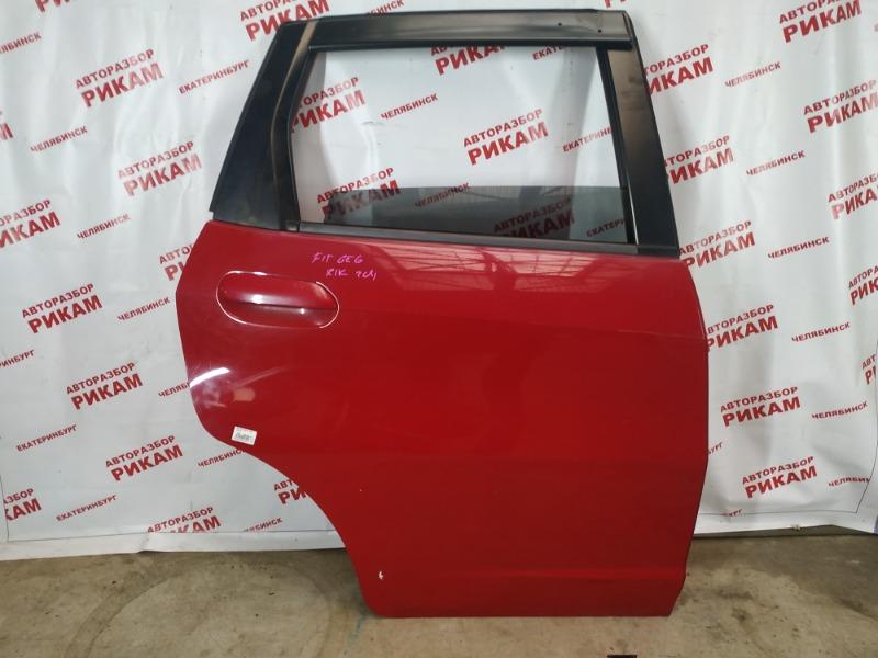 Дверь Honda Fit GE6 L13A задняя правая