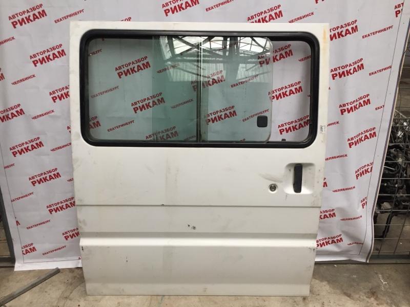 Дверь Mazda Bongo SK82V F8 2004 задняя правая