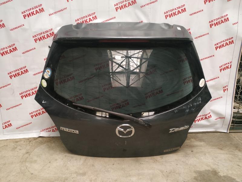 Дверь багажника Mazda Demio/ Mazda 2 DE3FS