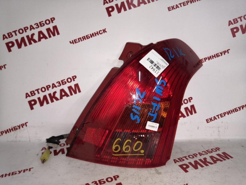Стоп-сигнал Suzuki Swift ZC11S задний правый