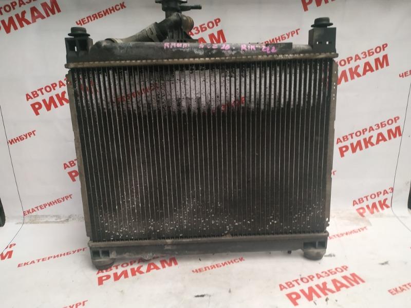 Радиатор охлаждения Toyota Raum NCZ20 1NZ-FE 2004