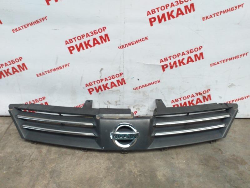 Решетка радиатора Nissan Wingroad WHNY11 QG18DE 2002