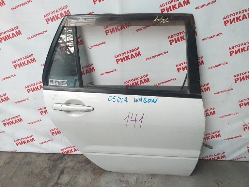 Дверь Mitsubishi Lancer Cedia CS5W задняя правая