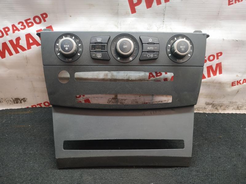Блок климат-контроля Bmw 525I E60 M54 256S5 2004