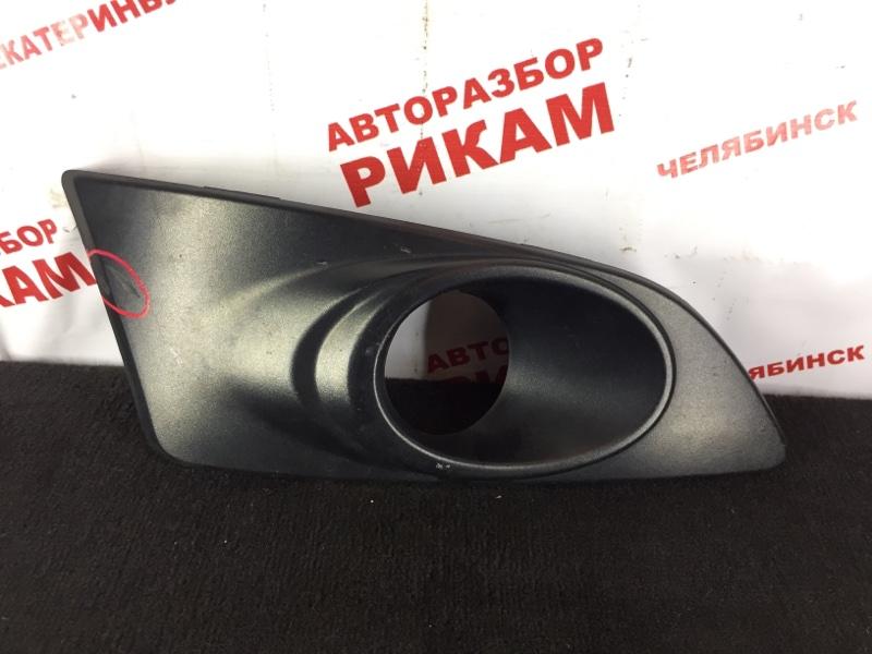 Заглушка бампера Chevrolet Aveo T300 F16D4 2015 передняя правая