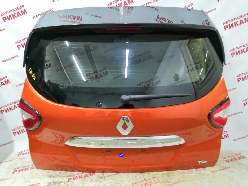 Дверь багажника Renault Captur J5 H5F403 2016 задняя