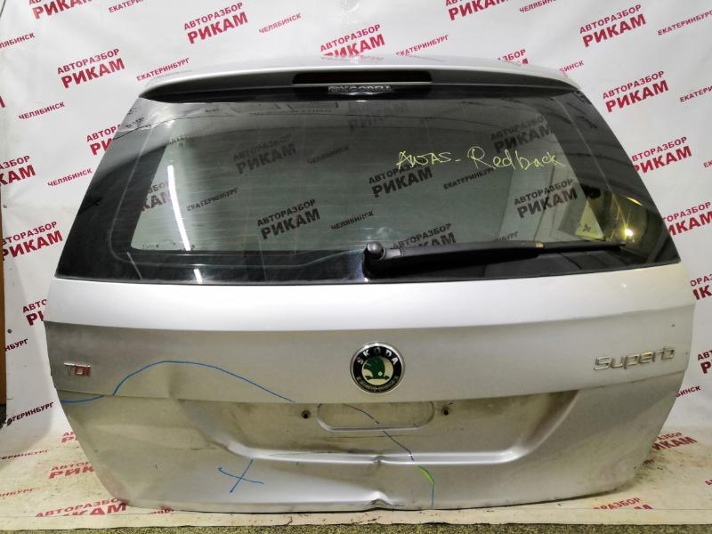 Дверь багажника Skoda Superb 3T CFGB 2011 задняя
