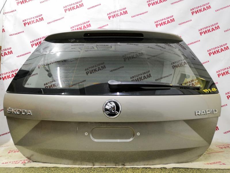 Дверь багажника Skoda Rapid NH1 CAX 2014 задняя
