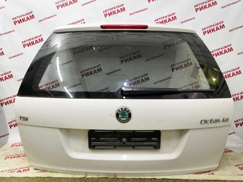 Дверь багажника Skoda Octavia A5 1Z5 CAX 2012 задняя