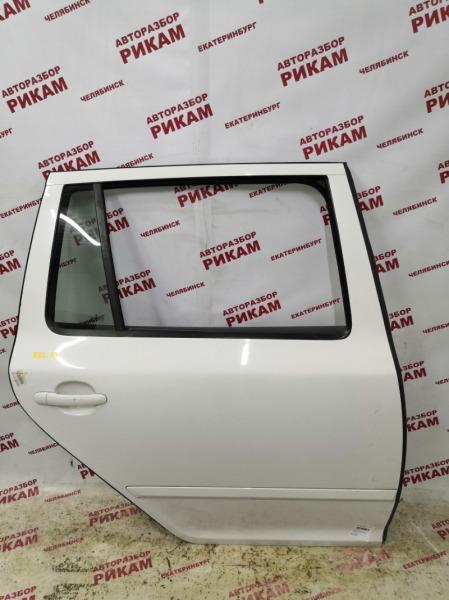 Дверь Skoda Octavia A5 1Z5 CAX 2012 задняя правая