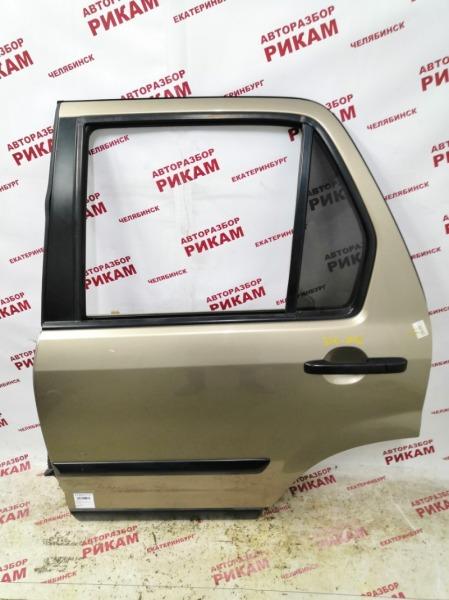 Дверь Honda Cr-V RD7 K24A1 2006 задняя левая