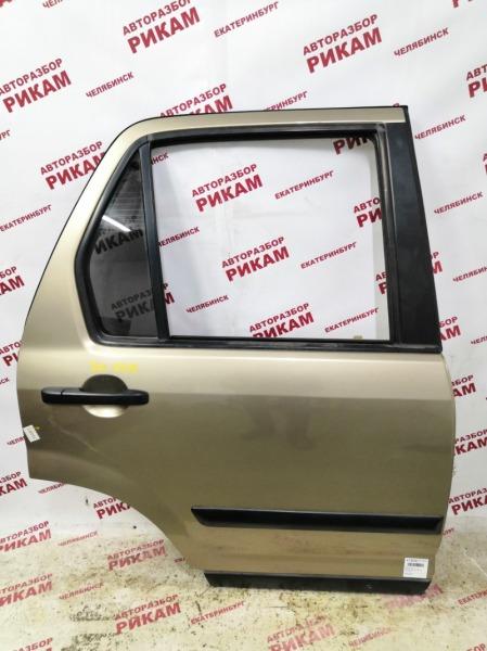 Дверь Honda Cr-V RD7 K24A1 2006 задняя правая