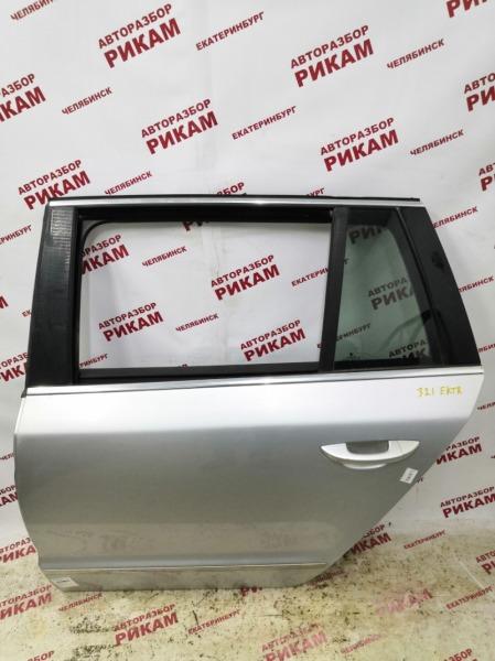 Дверь Skoda Superb 3T CFGB 2011 задняя левая