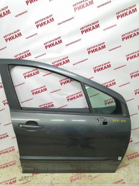 Дверь Peugeot 308 4A/C 10FJBJ 2010 передняя правая