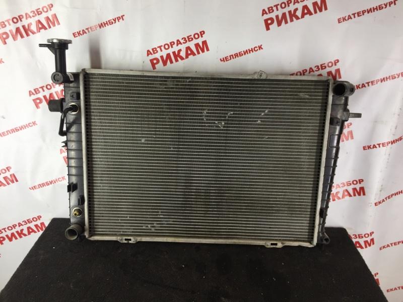 Радиатор охлаждения Hyundai Tucson