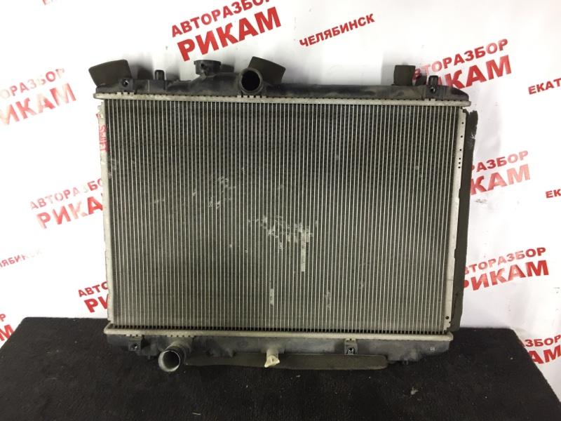 Радиатор охлаждения Suzuki Swift