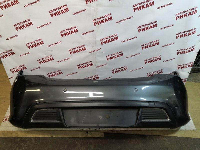 Бампер Peugeot 308 4A/C 10FJBJ 2010 задний