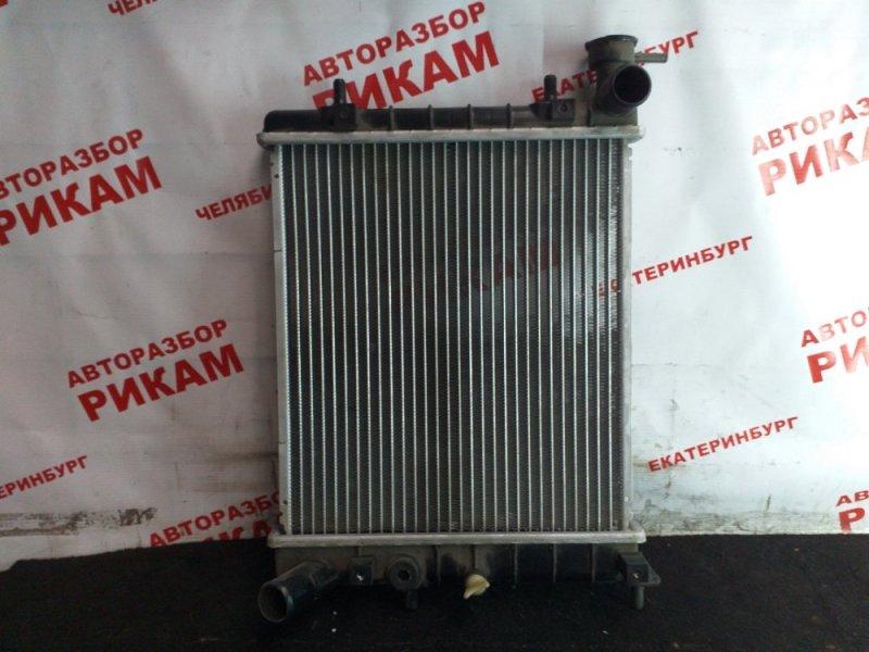 Радиатор охлаждения Hyundai Accent