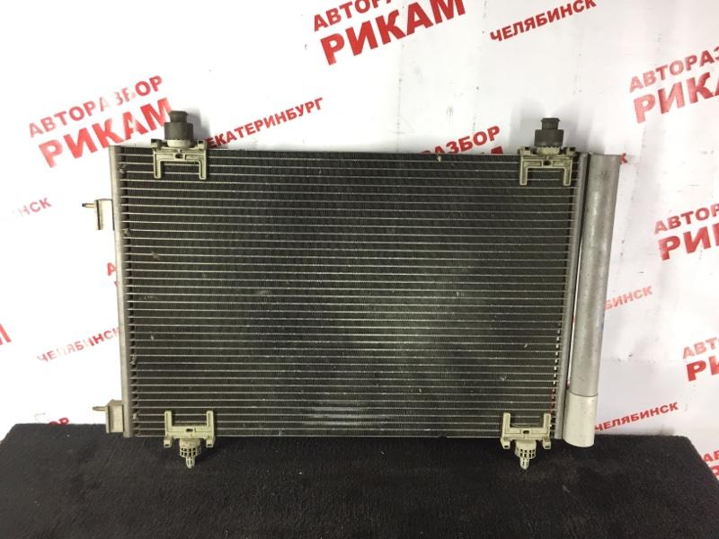 Радиатор кондиционера Citroen C4