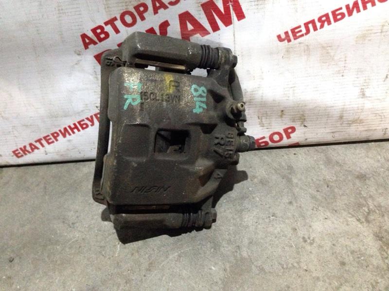 Суппорт тормозной Honda Capa GA4 передний правый
