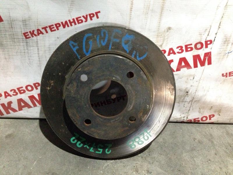Диск тормозной Nissan Sunny FB15 QG15DE передний
