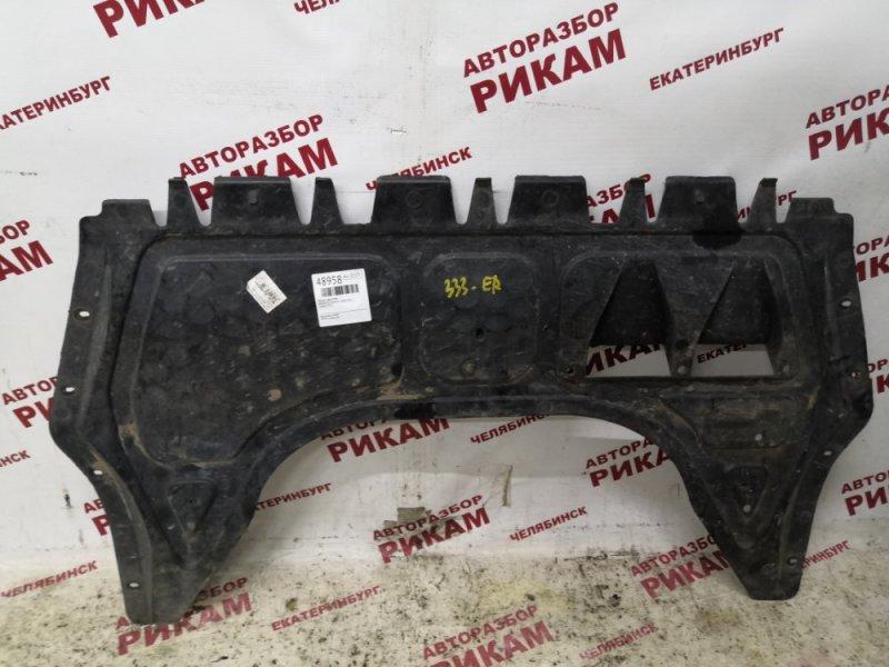 Защита двигателя Skoda Octavia A5 1Z5 CAX 2012