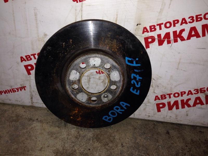 Диск тормозной Volkswagen Bora 1J2 передний