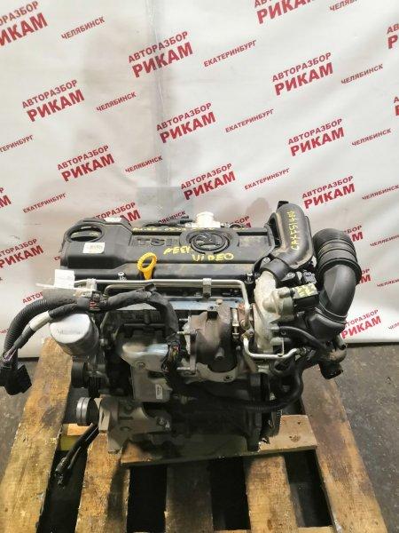 Двигатель Skoda Rapid NH1 CAX 2014
